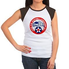 USN Air Station Women's Cap Sleeve T-Shirt