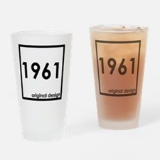 Cute 1961 Drinking Glass