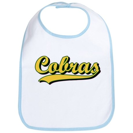 Old School Cobras Logo - Yell Bib