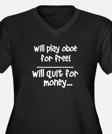 Funny Oboe Plus Size T-Shirt