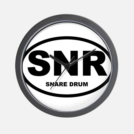 Snare Drum Shirts and Gifts Wall Clock