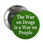 War on Drugs, War on People (Button)