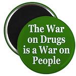War on Drugs is War on People (Magnet)
