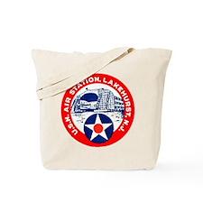 USN Air Station Tote Bag