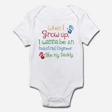 Industrial Engineer Like Daddy Infant Bodysuit