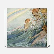 Mermaids - Sea Fairies Mousepad