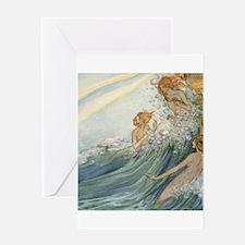 Mermaids - Sea Fairies Greeting Card