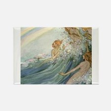 Mermaids - Sea Fairies Rectangle Magnet