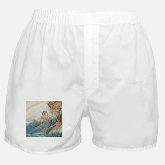 Mermaids - Sea Fairies Boxer Shorts