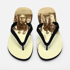 Civil War Soldiers Flip Flops