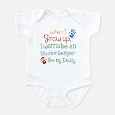 Interior Designer Like Daddy Infant Bodysuit