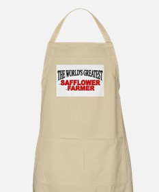 """""""The Wold's Greatest Safflower Farmer"""" BBQ Apron"""