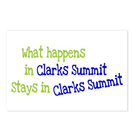 What Happens In Clarks Summit Postcards (Package o