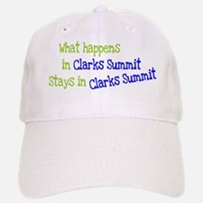 What Happens In Clarks Summit Baseball Baseball Cap