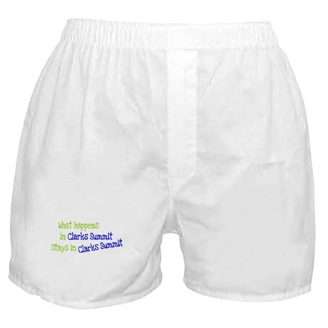 What Happens In Clarks Summit Boxer Shorts