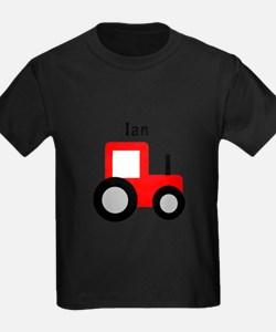 Ian - Red Tractor T-Shirt