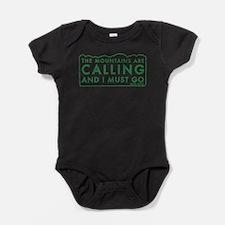 Cute Mountaineer Baby Bodysuit