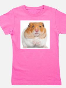 Cute Hamsters Girl's Tee