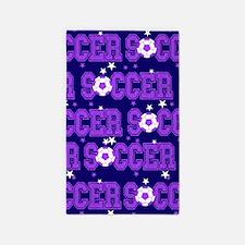 Soccer Girls Area Rug