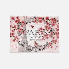 Paris spring 5'x7'Area Rug
