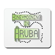 Green Honeymoon Aruba Mousepad