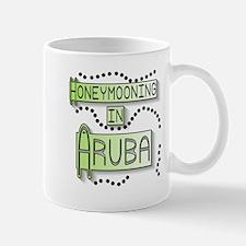 Green Honeymoon Aruba Mug