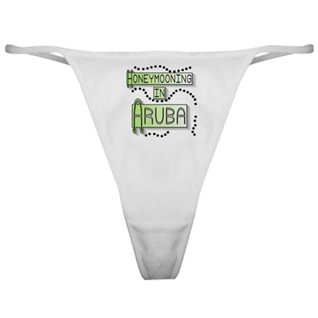 Green Honeymoon Aruba Classic Thong