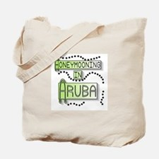 Green Honeymoon Aruba Tote Bag