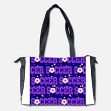 Soccer Girls Diaper Bag