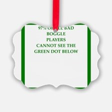 sports and gaming joke Ornament