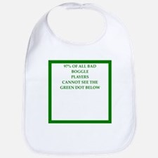 sports and gaming joke Bib