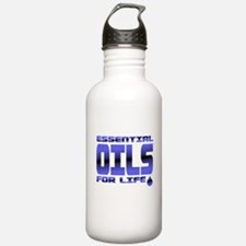 Essential Oils For Life | Blue Water Bottle