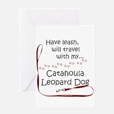 Catahoula Travel Greeting Card