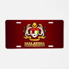 Malaysia COA Aluminum License Plate