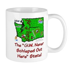 WA-G.W. Never! Mug