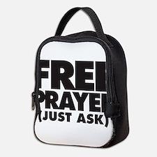 Free Prayer (on light) Neoprene Lunch Bag