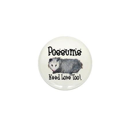 Possums Need Love Mini Button