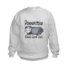 Possums Need Love Sweatshirt