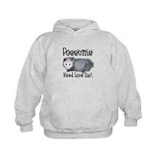 Possums Need Love Hoodie