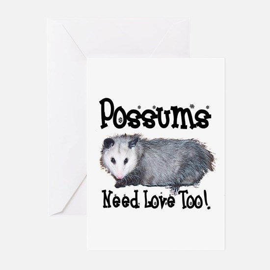 Possums Need Love Greeting Cards (Pk of 10)