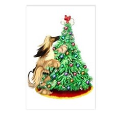Afghan Hound BMRed ReachGoals Postcards (Package o