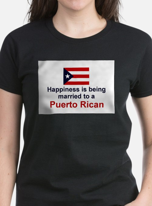 Happily Married To Puerto Rican T-Shirt