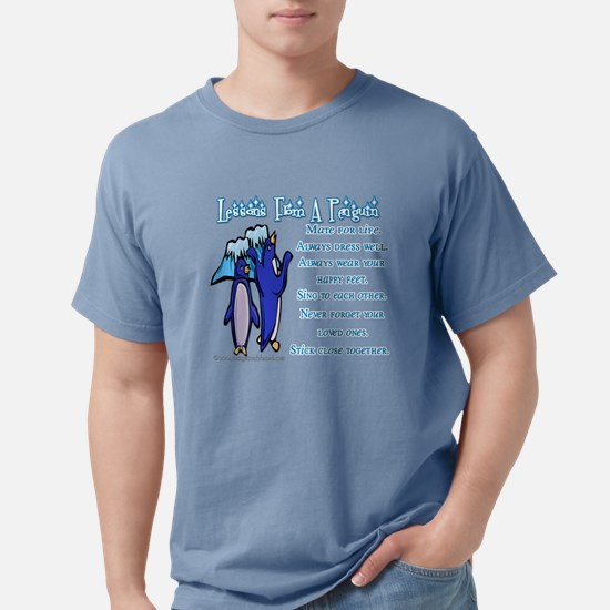 Lessons from a penguin Women's Dark T-Shirt
