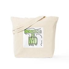 Green Honeymoon NYC Tote Bag