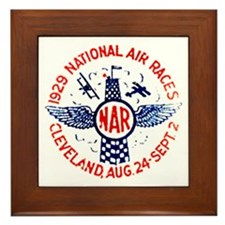 National Air Races Framed Tile