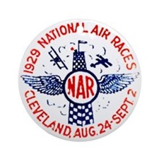 National Air Races Ornament (Round)