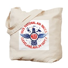 National Air Races Tote Bag