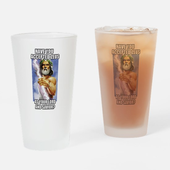 Zeus Drinking Glass