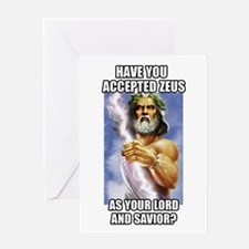 Zeus Greeting Cards