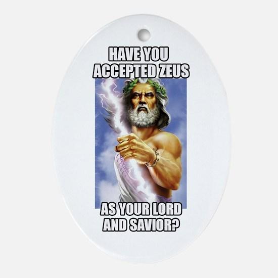 Zeus Oval Ornament